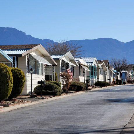 Albuquerque Meadows street view