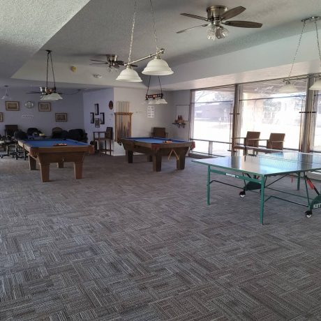 lounge area at Albuquerque Meadows